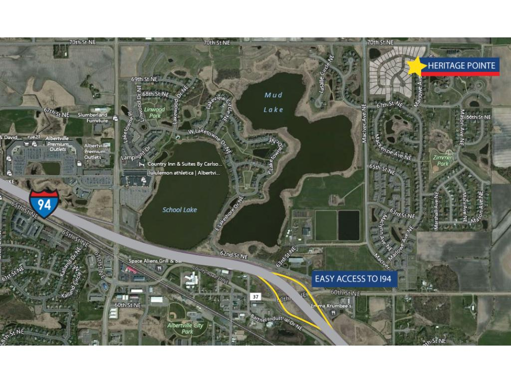 57 home community that is centrally located just minutes to interstate 94. No restrictive and costly association.