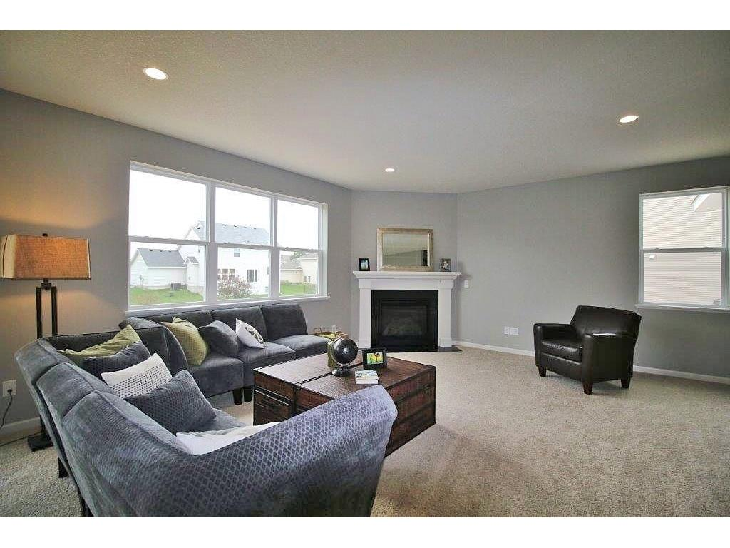 Home as lightly staged. Emphasis on the spacious family with plenty of room when entertaining.