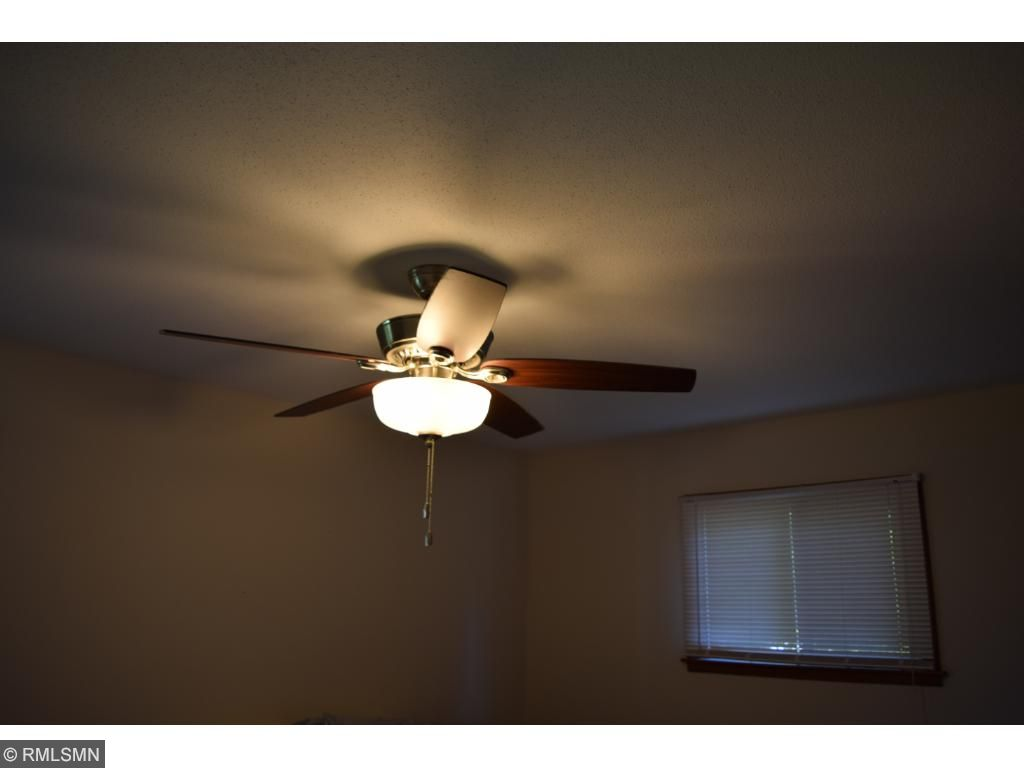 Both main level bedrooms have newer high quality ceiling fans with lights.