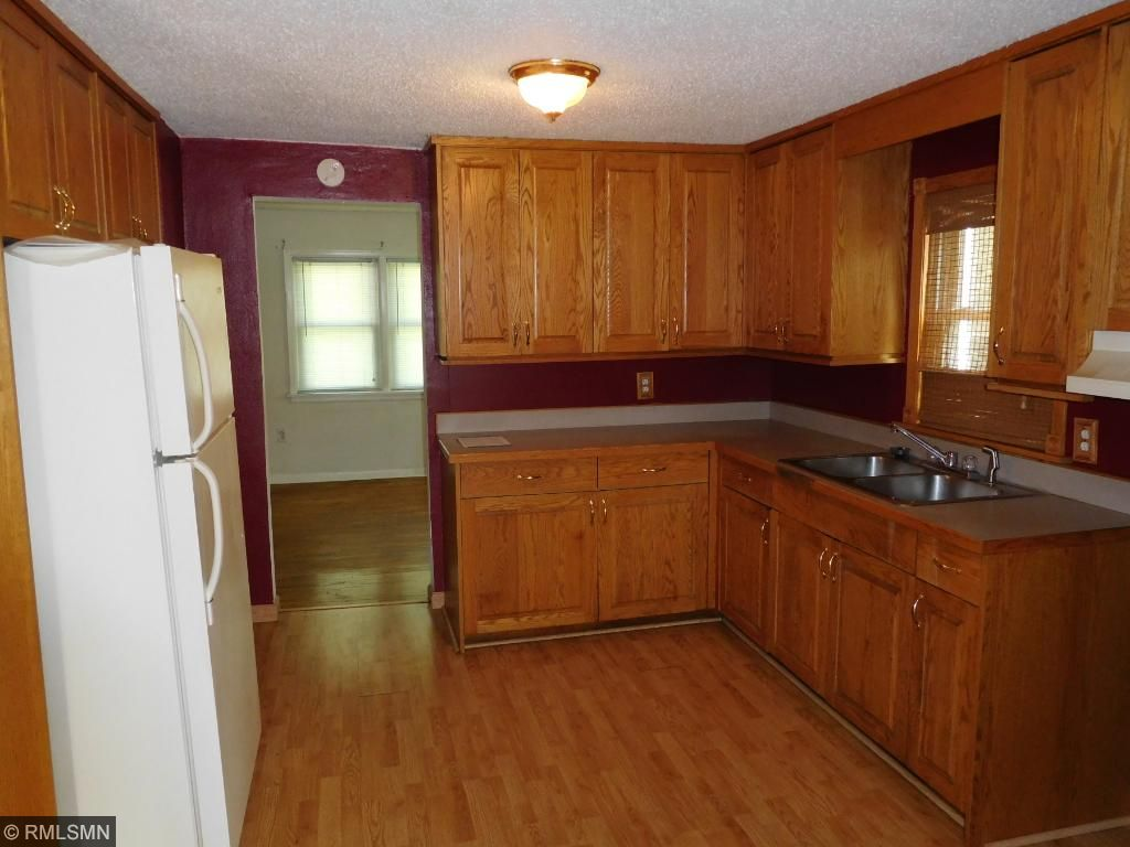 Open Kitchen with newer cabinets/counter tops
