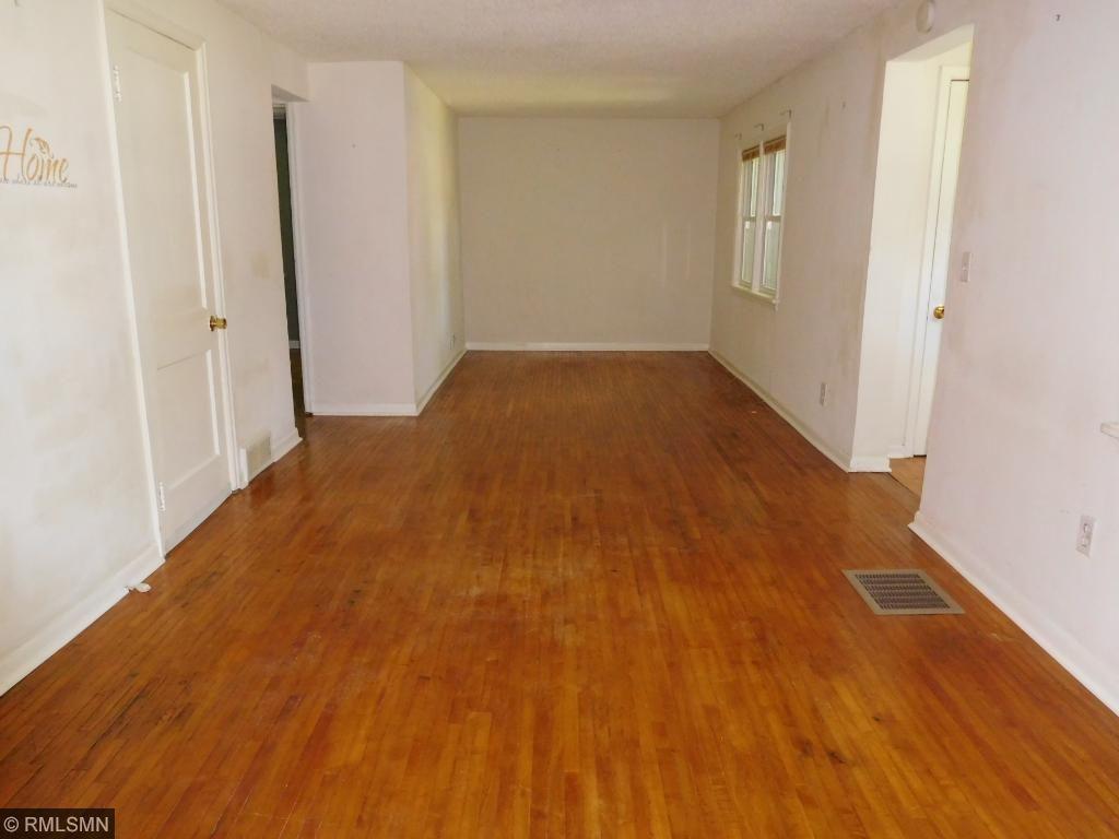 Spacious Main floor  Living Room