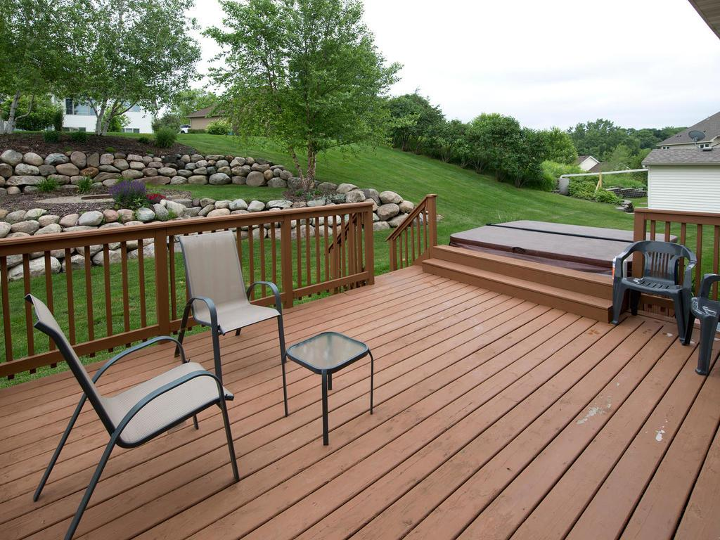 Keep the entertaining flowing with ease out onto the 17x14 wood deck. Enjoy a great breeze inside our out. There is not excuse for not enjoying outdoor meals when the layout makes it so easy.