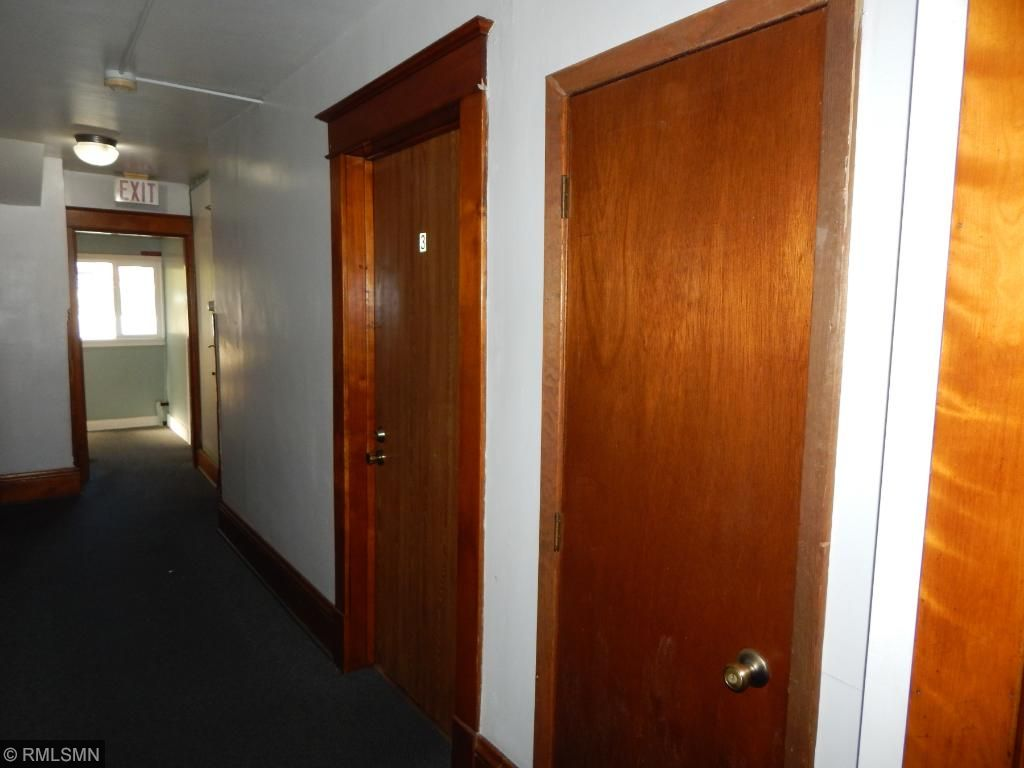 Hallway to units