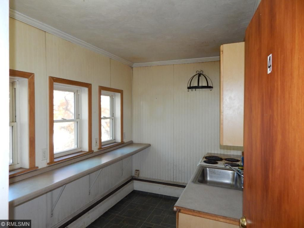 3rd level one bedroom unit converted to kitchen