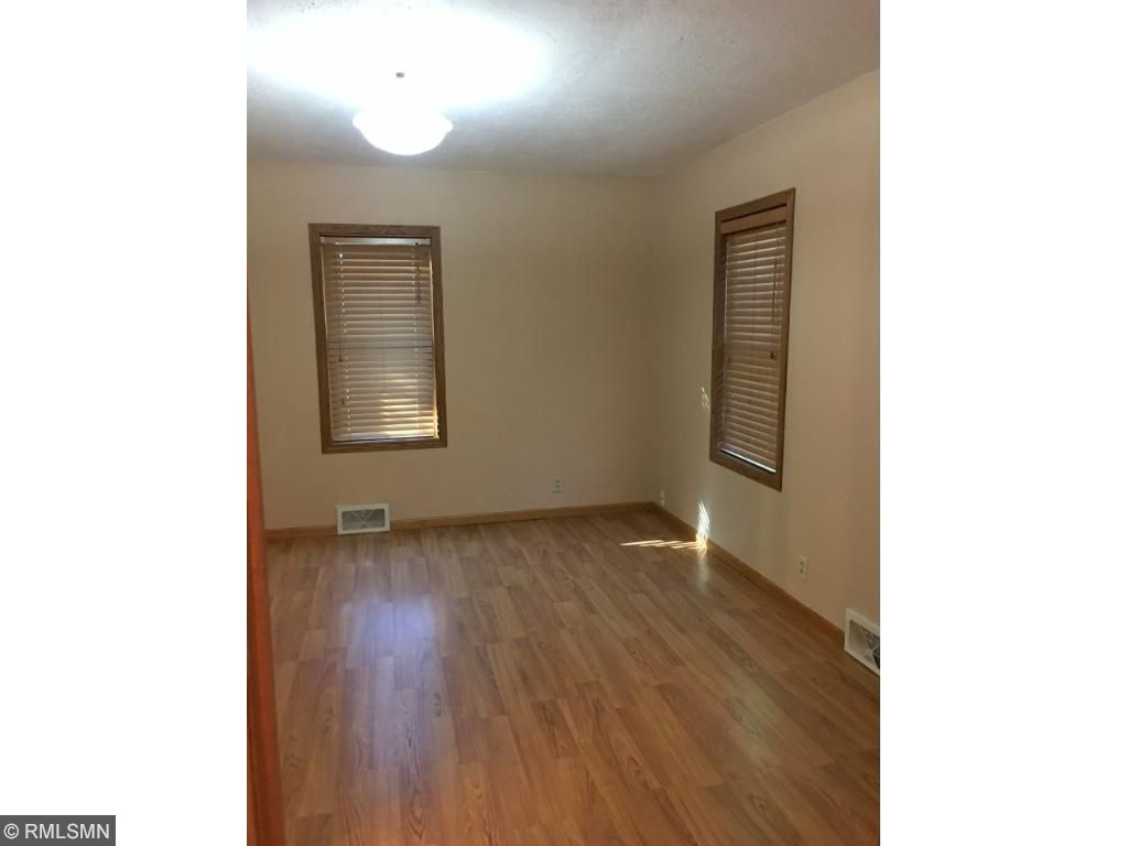 Master bedroom is large & has WIC