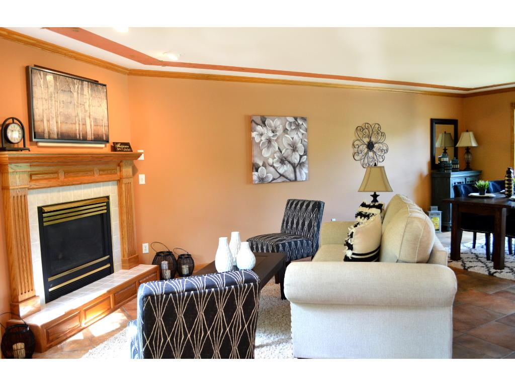 The serene owner's bedroom has a large walk-in closet and private bath.