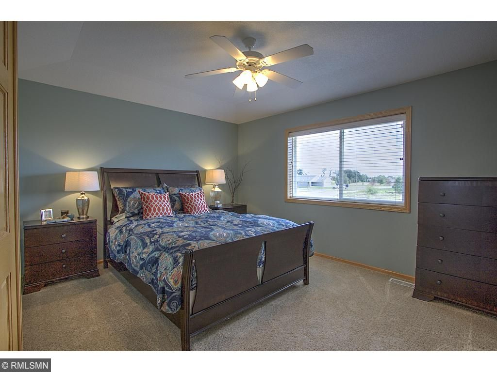 Large master bedroom with ample closet space.