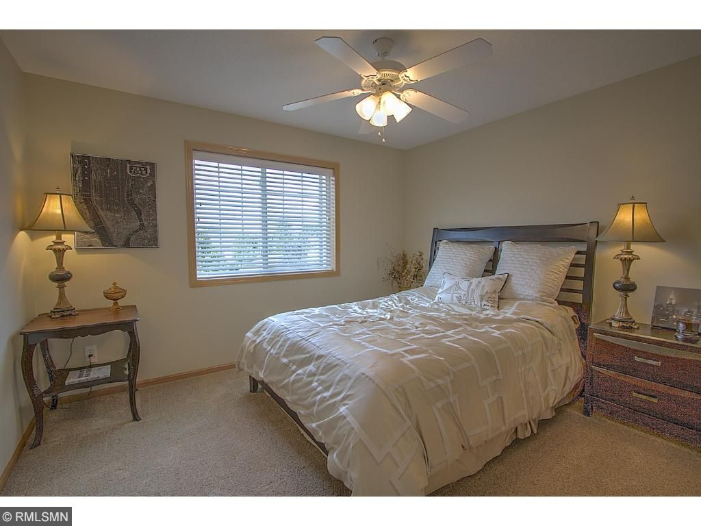 Bedroom with bright natural light - well kept and clean home!