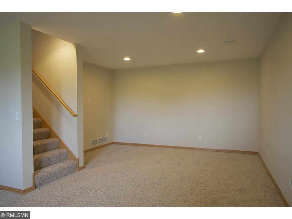 Recently finished lookout basement with brand new Mohawk carpet!