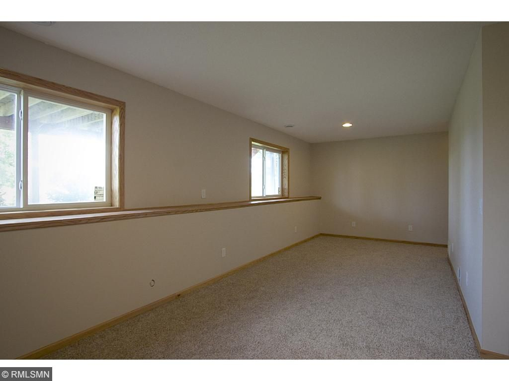 Large lower level family room!