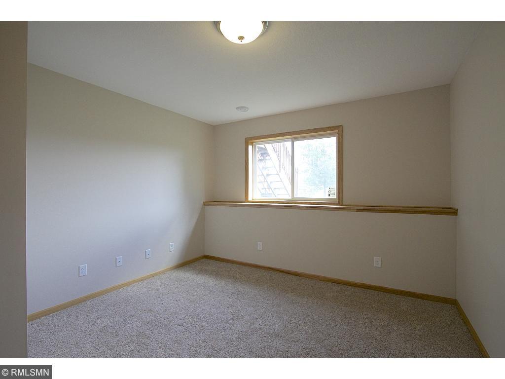 Lower level bedroom with huge walk in closet!