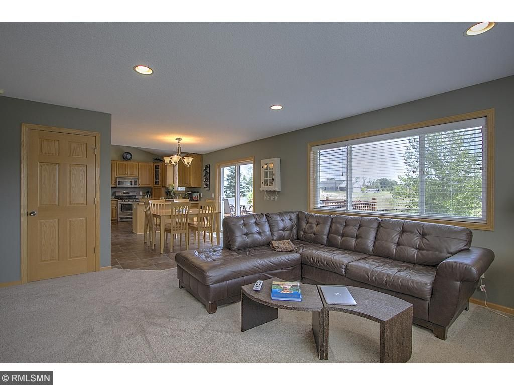 Family room - great room style design.  Mohawk Smart Strand carpet throughout!