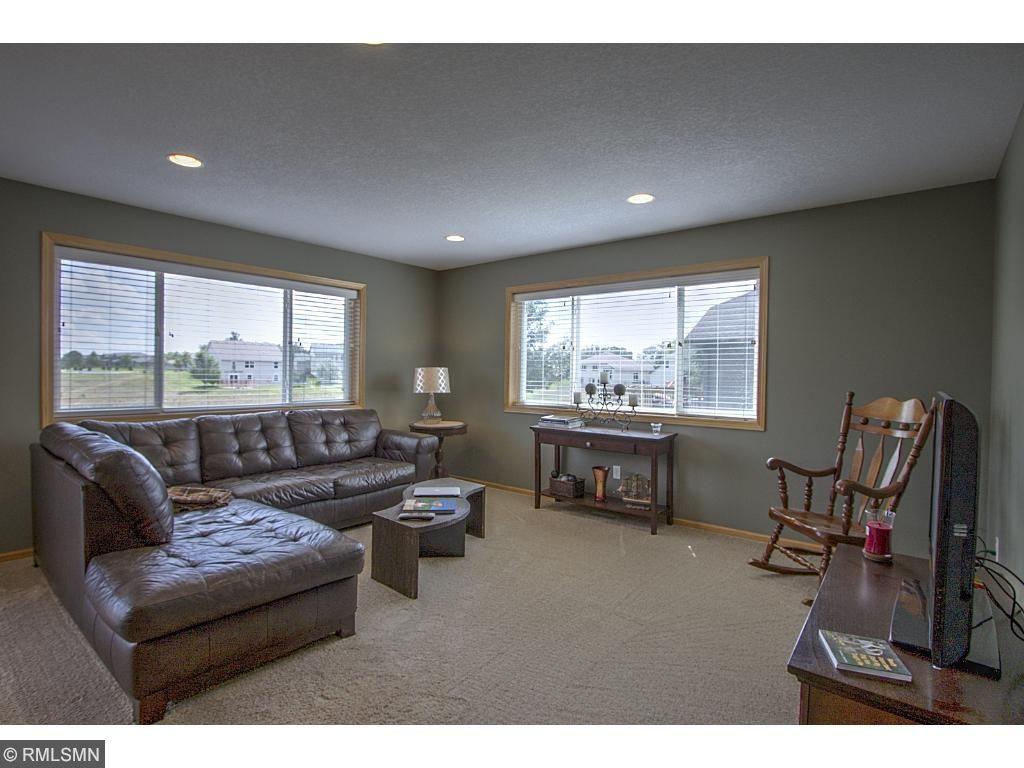 Main floor Family room - great room style design.