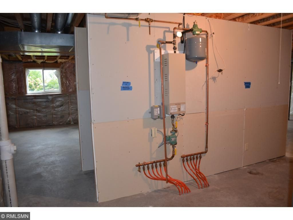 Lower level offers radiant in-floor heating!