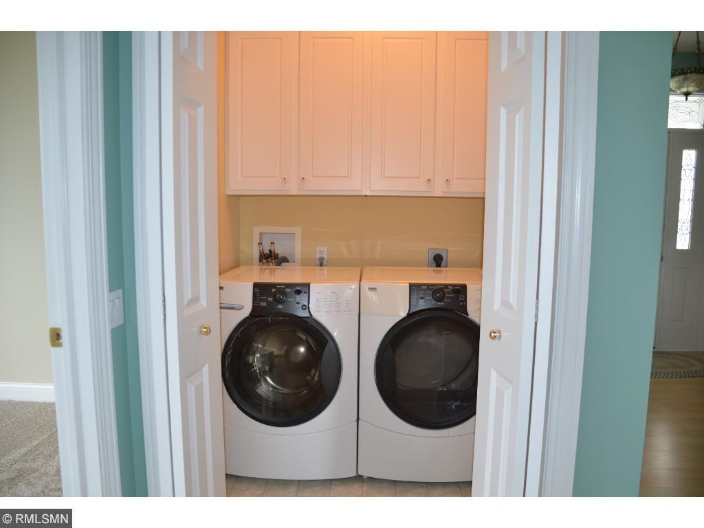Main level laundry...