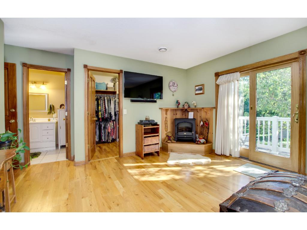 This is the very large master bedroom with private full bath, balcony and huge walk in closet!! This is a little oasis of your own.