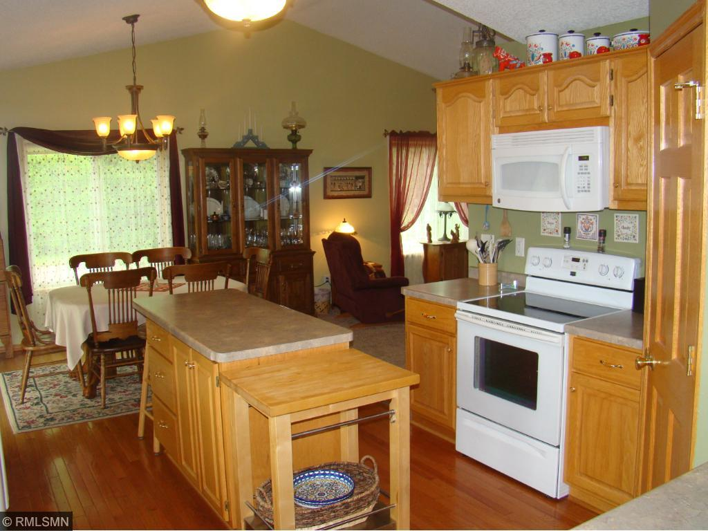 Kitchen from entry.
