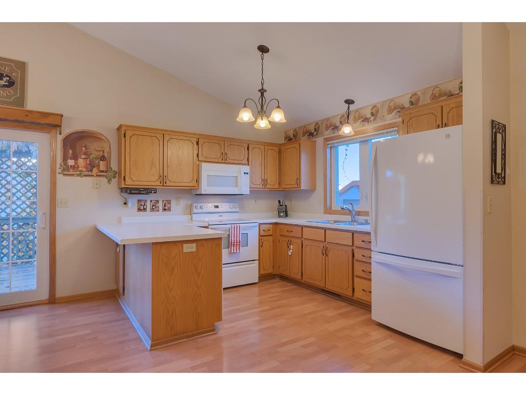 Spacious Kitchen with Ample Storage Space