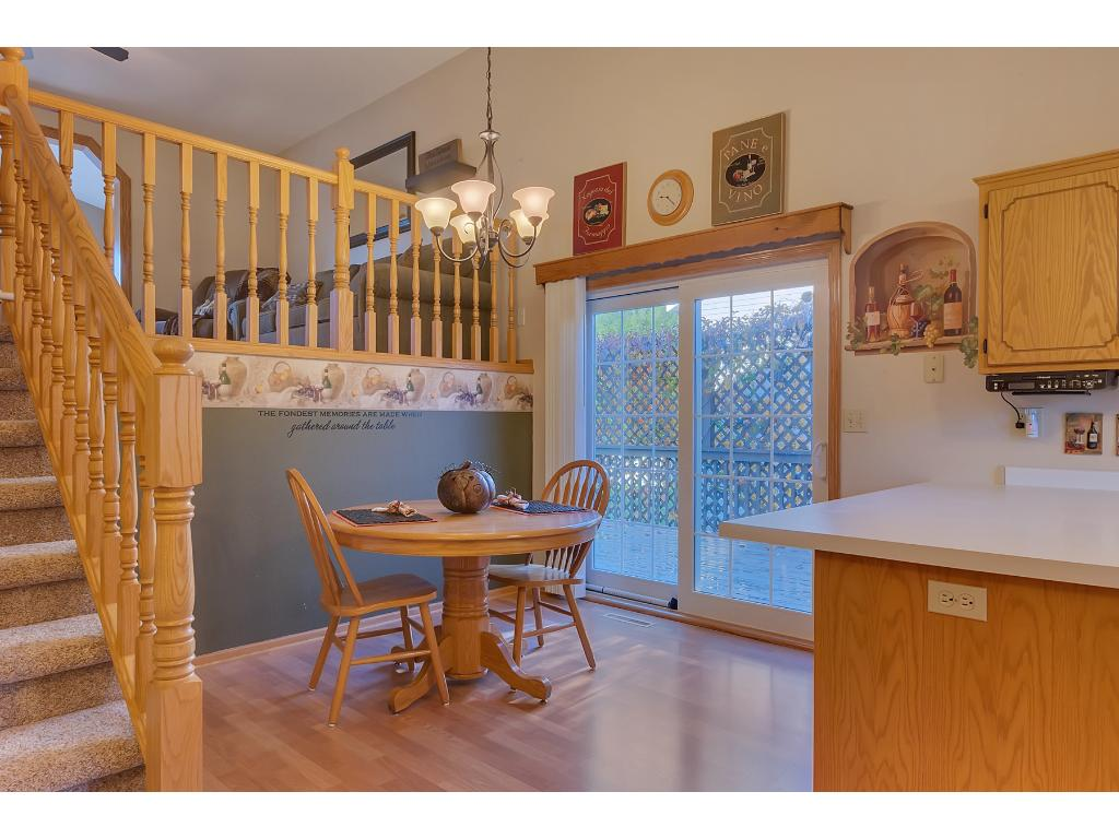 Dining Room leads to Patio & Yard