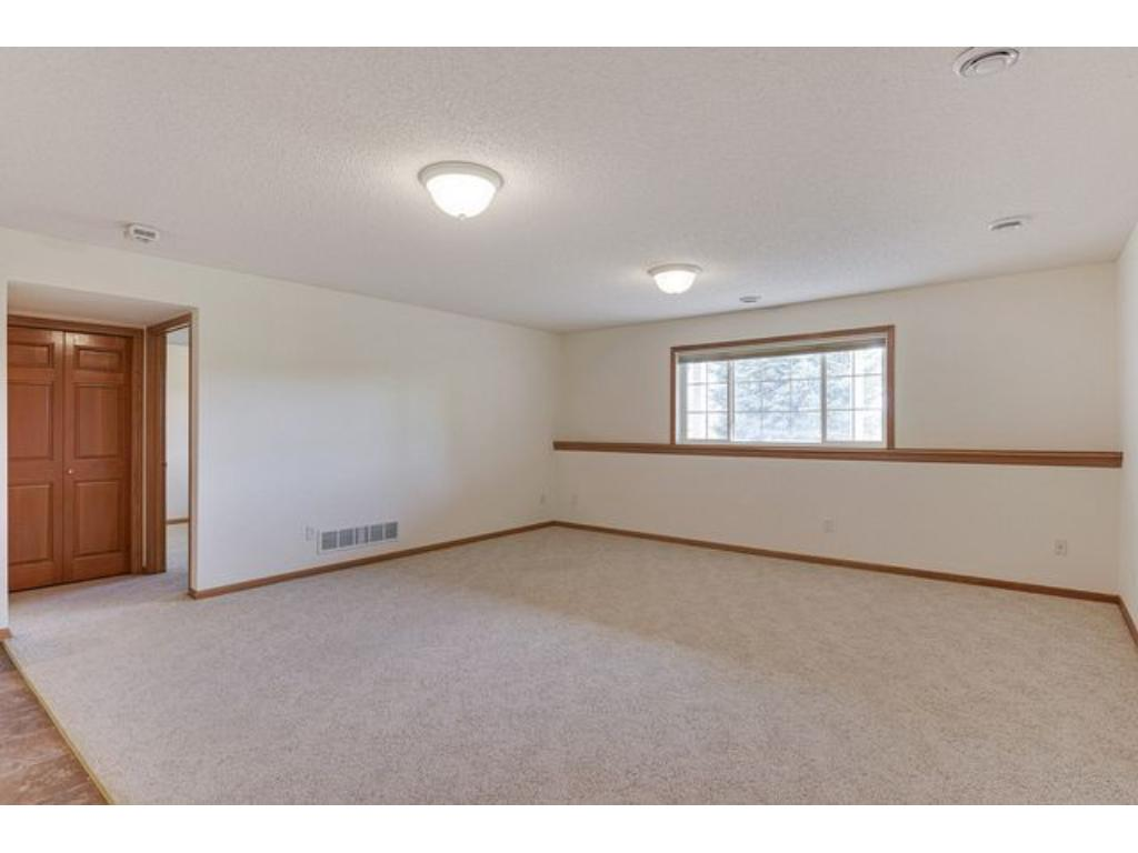 Fully finished lower level offers room to entertain family and friends.