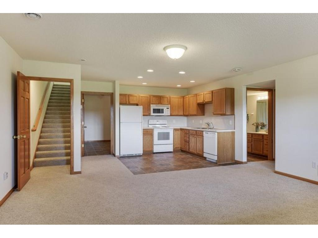Full second kitchen in the lower level makes entertaining easy or offers wonderful guest quarters.
