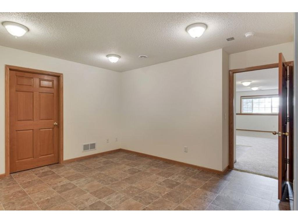 Large office or craft room finished for you in the lower level.