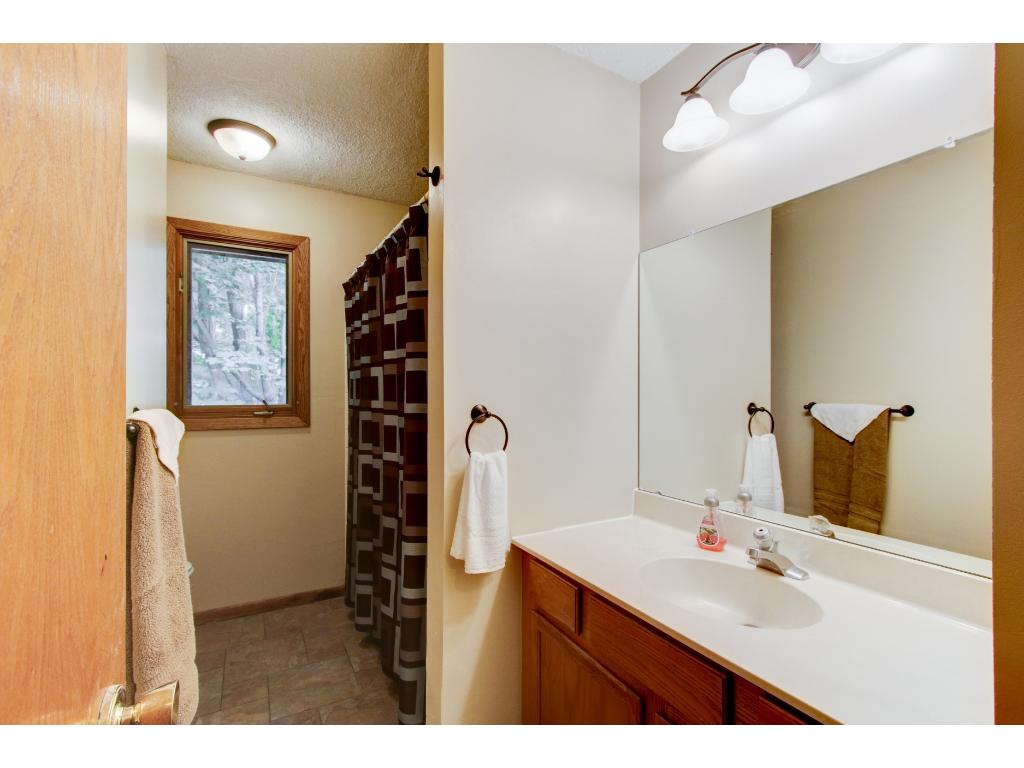 3/4 Bath in Lower Level