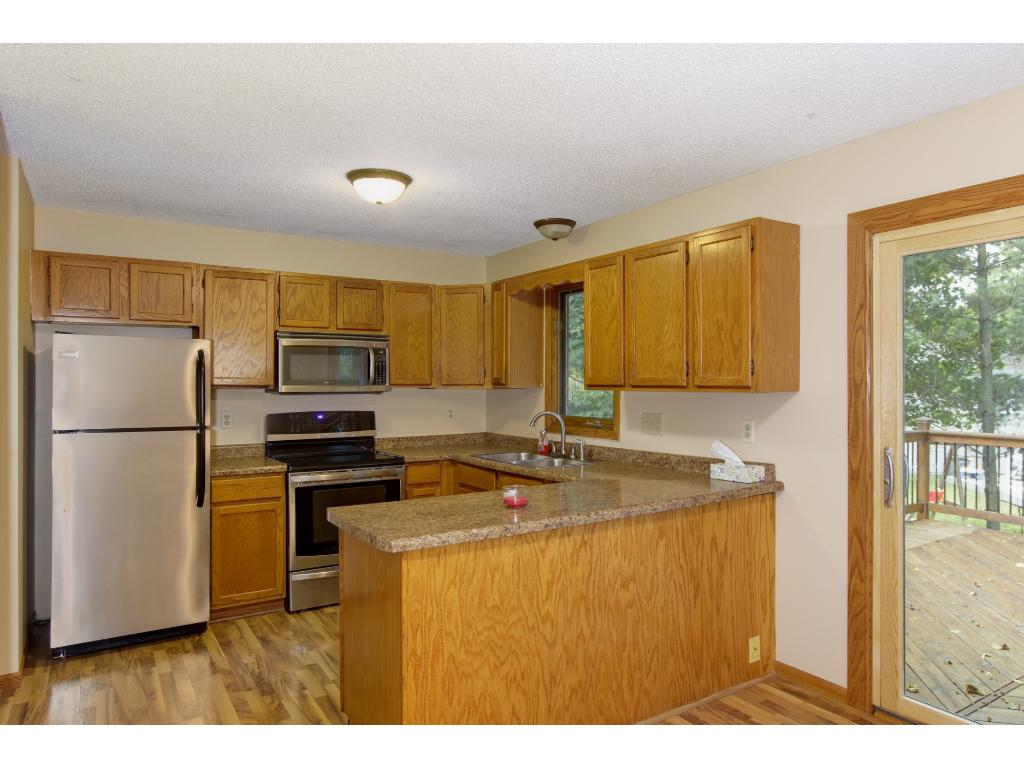Stainless Steel Appliances and plenty of counterspace!