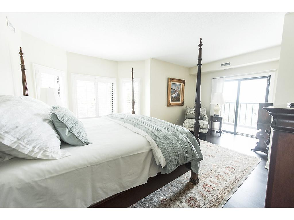 Master bedroom with walk in closets and private bath!