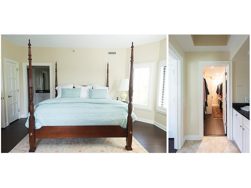 Gorgeous views from the master bedroom!