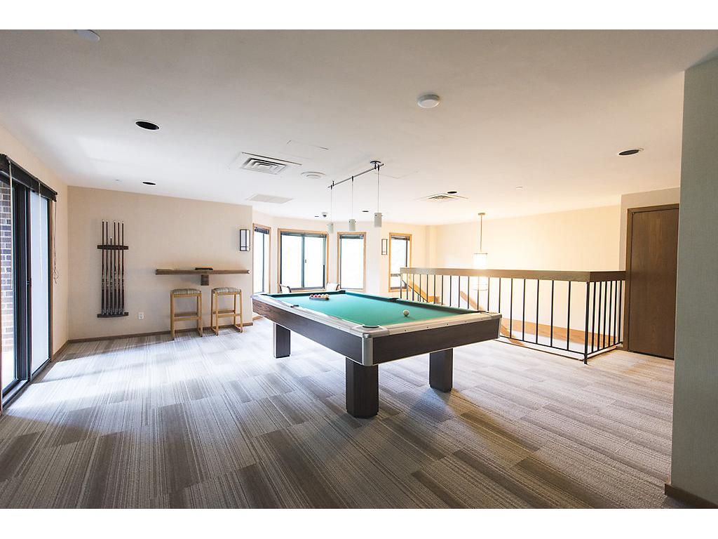 Private banquet room, game room, bar, library and guest suites - there are multiple common rooms for hosting parties!