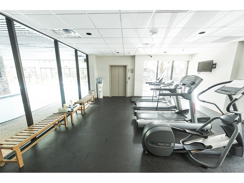 Fitness room available!