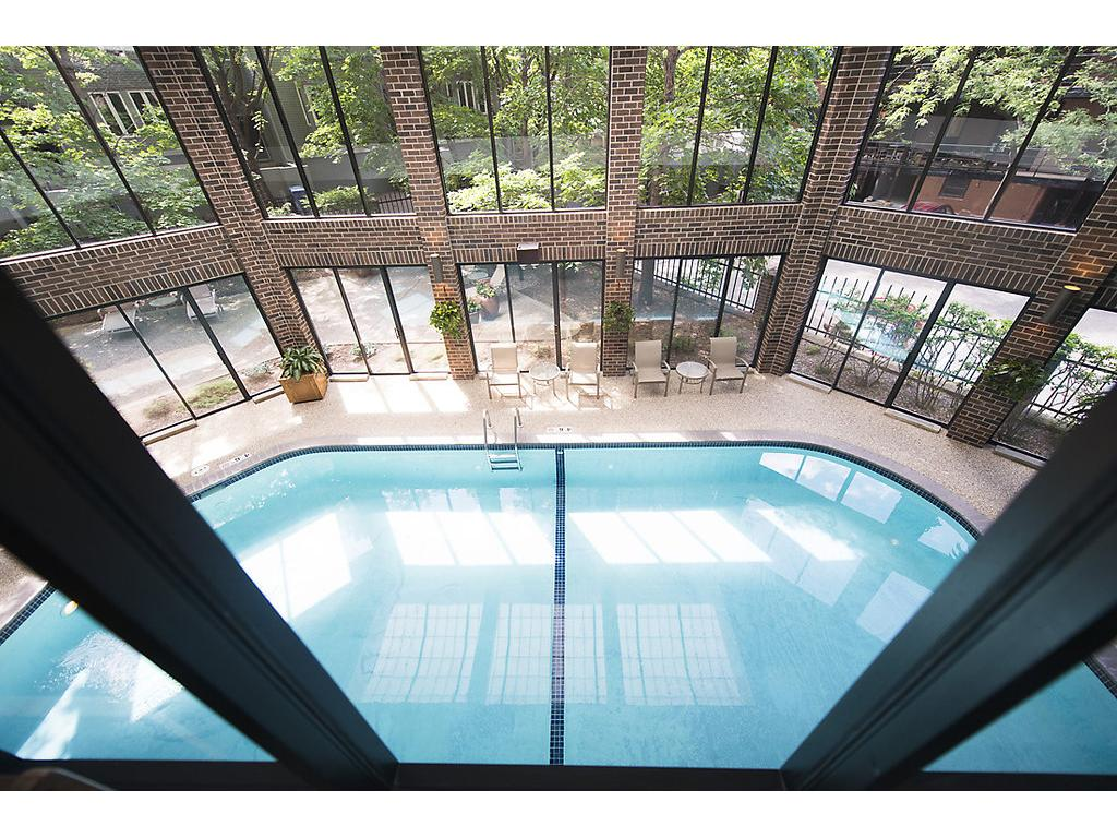 View from above the pool - perfect for visitors, family, friends and you!