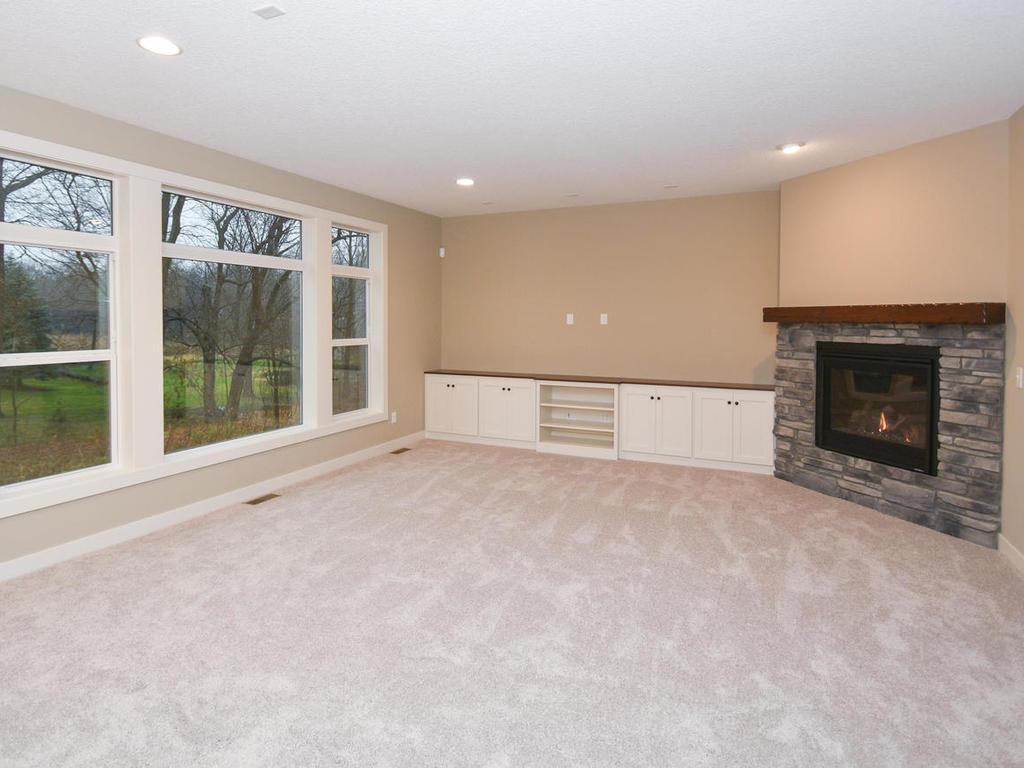 Living Room w/ Picture Window