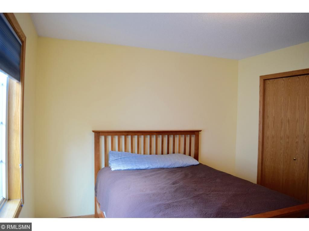 Convenient second bedroom on the upper level.