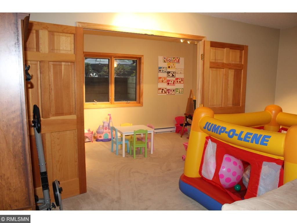 """The """"Flex Room"""" here has a full egress window and could be converted to a 5th bedroom with the simple addition of a closet!"""