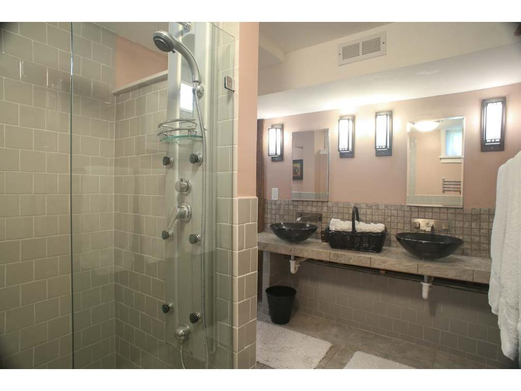Here is the master bath walk-in shower.