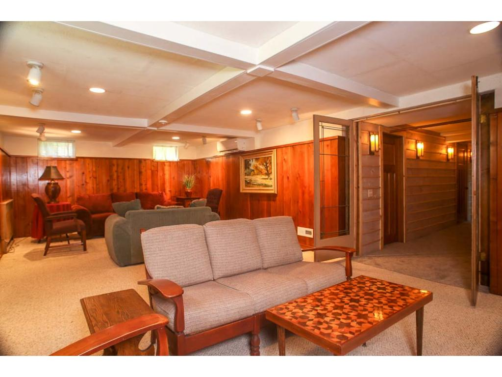 Here is the lower level family room.  Plenty of space for entertaining family and friends.