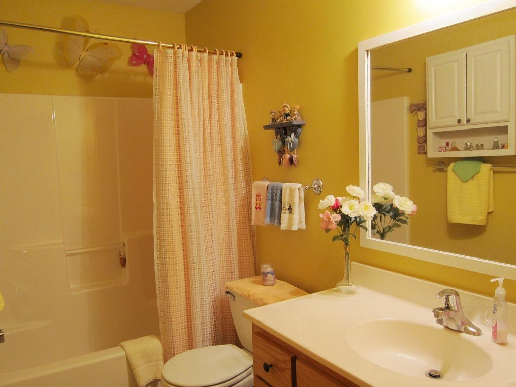 3 full baths, 2 on the main floor, and 1 in the lower level