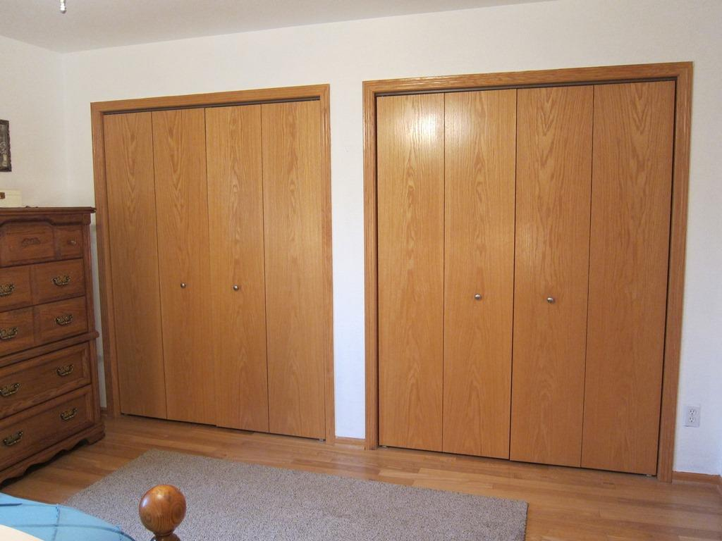 Master double closets