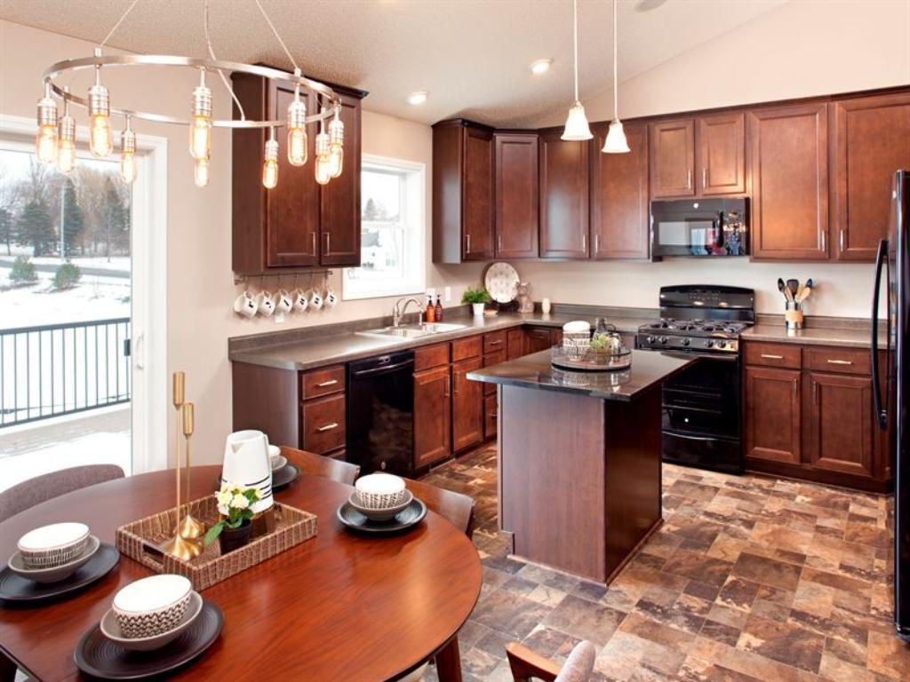 Kitchen (Pictured is a staged model of this floor plan)