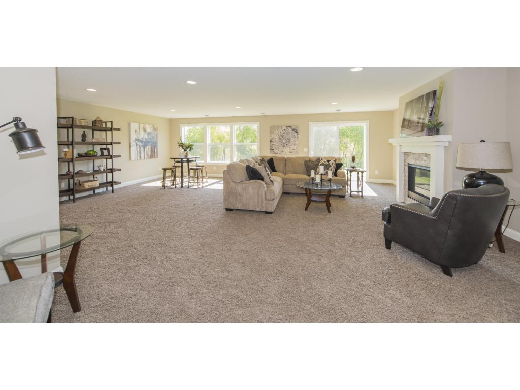 Previous model of similar floor plan by Benzinger Homes.  Some options vary.