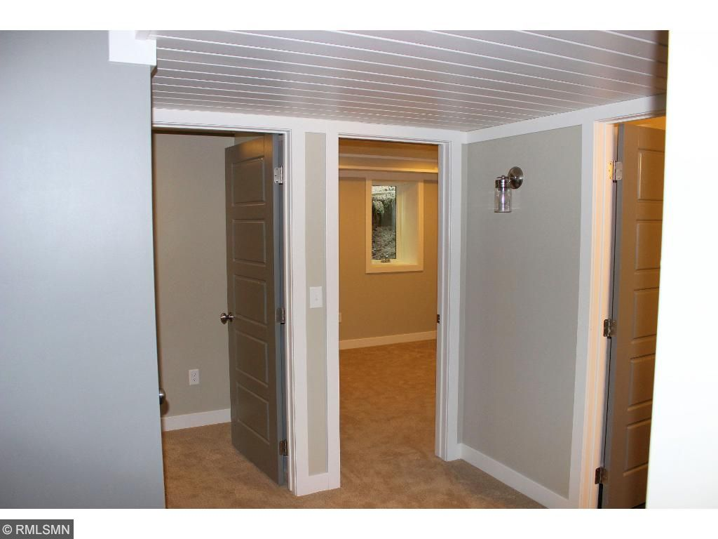Walkout lower level has an additional bedroom as well as a bathroom.