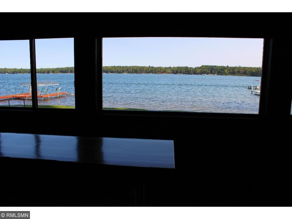 Stunning views of Trout Lake from the lakeside beach house