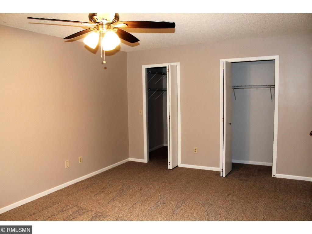 Large 2nd bedroom with plenty of closet space. New ceiling fan.