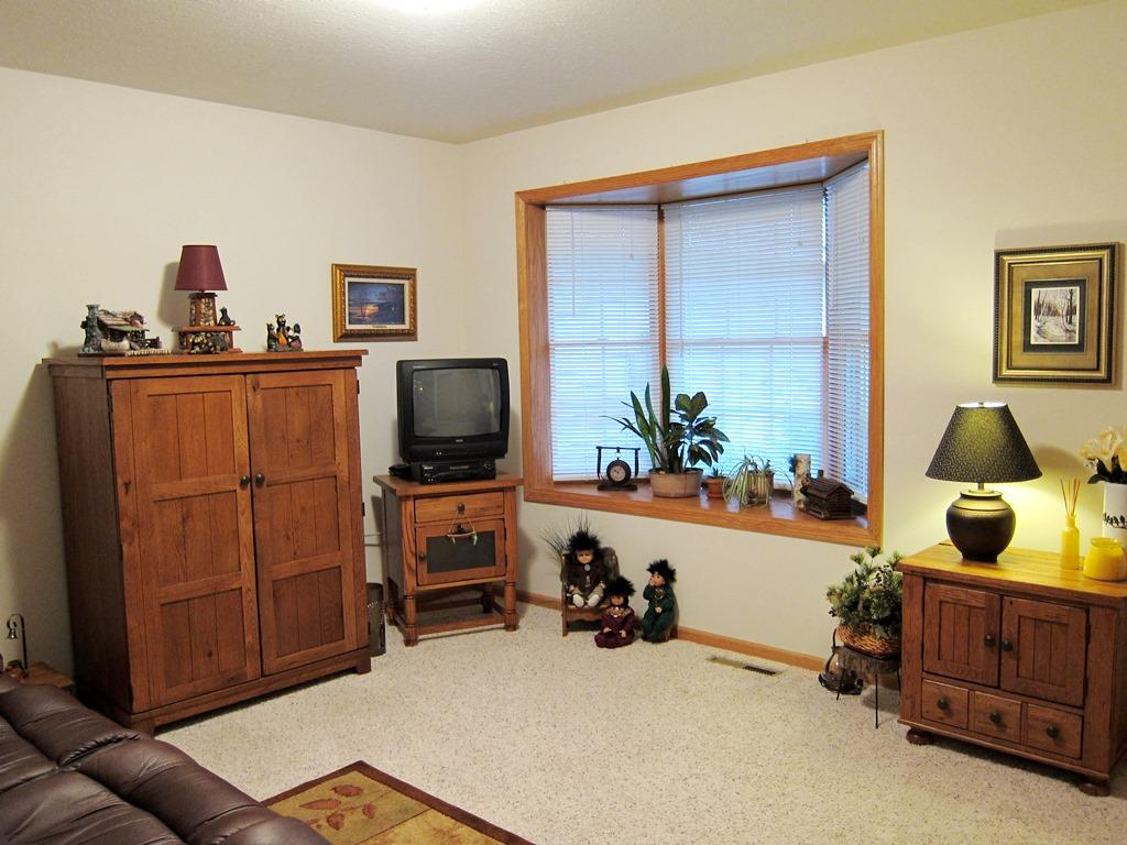 3rd Bedroom, also used as an Office /Den has Bay Window