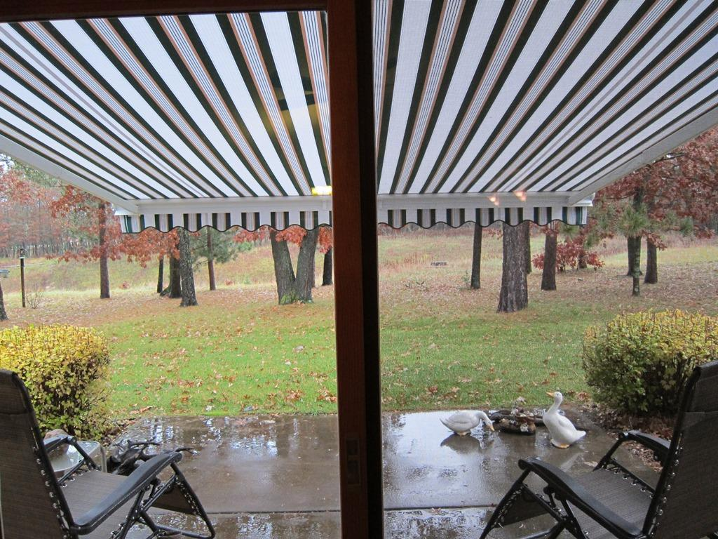 Retractable Awning with Remote Control from 'Better Living Concepts' $4,000. Value