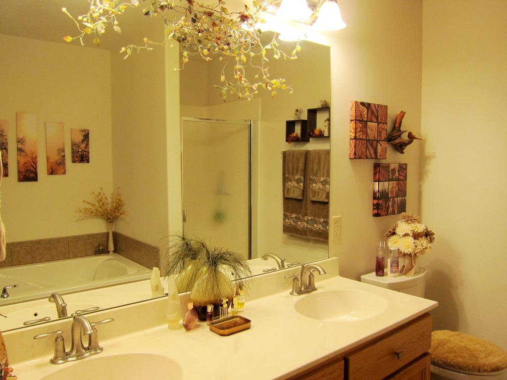 Double Vanity, Separate Shower, and Whirlpool Bath