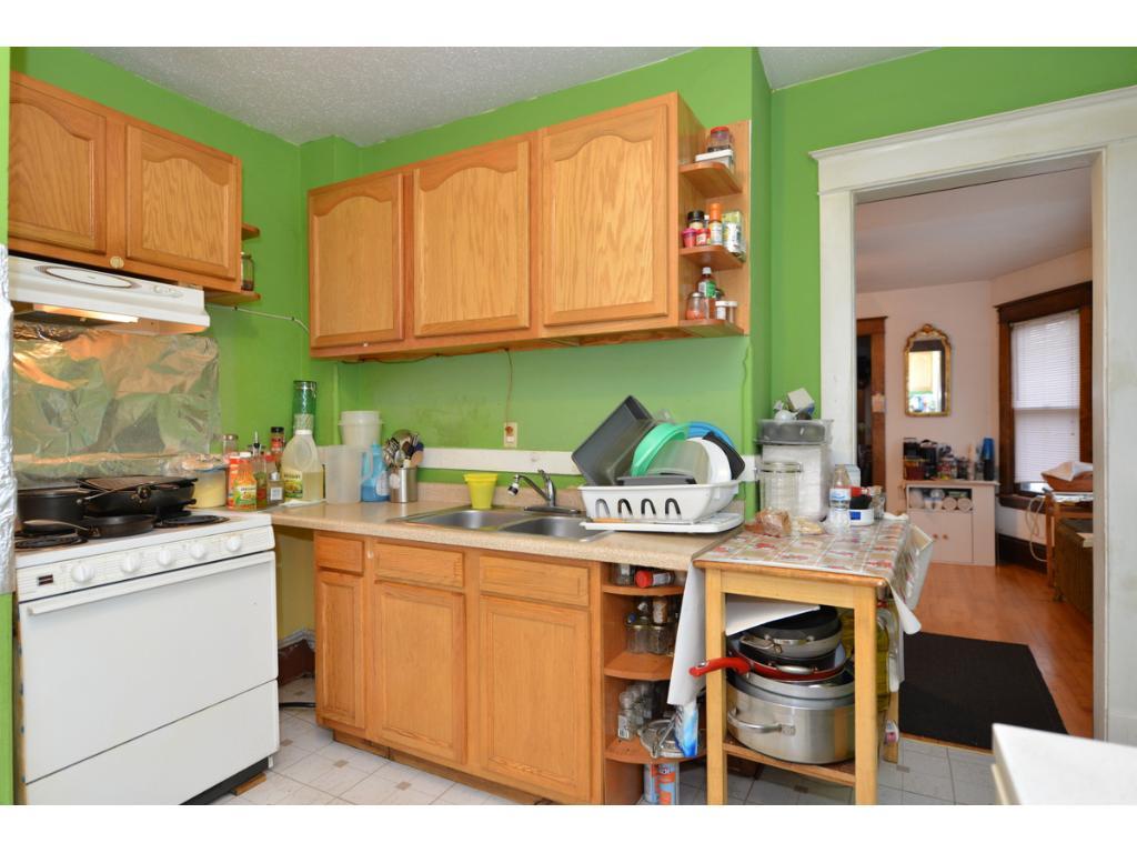 Updated 2nd floor kitchen.  I hope you like green!