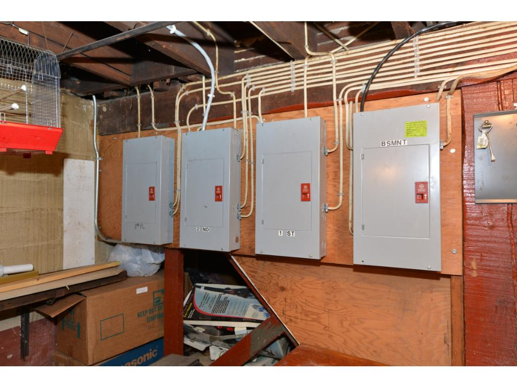 Four updated, separate electrical systems.